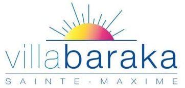 Logo de la villa Baraka à Sainte-Maxime
